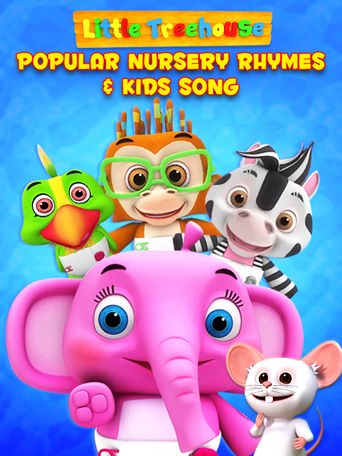 Little Treehouse Nursery Rhymes and Kids Songs: Non-Stop Poster