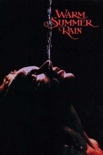 Warm Summer Rain Poster