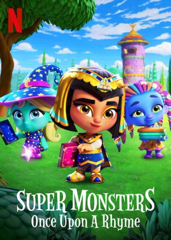 Super Monsters: Once Upon a Rhyme Poster