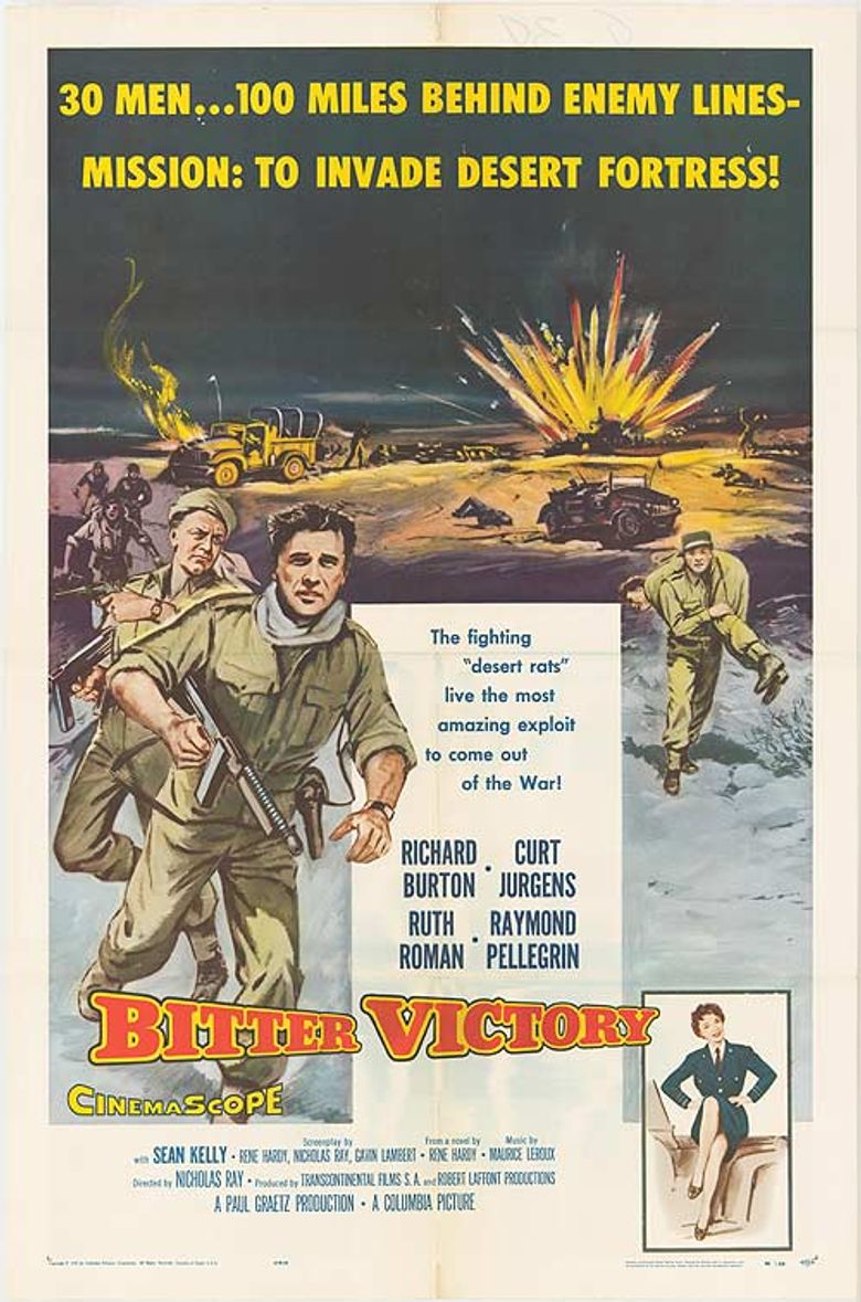Bitter Victory Poster