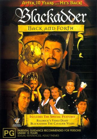 Blackadder Back & Forth Poster