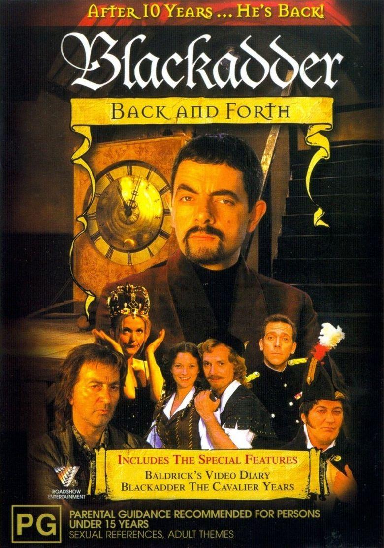 Blackadder Back & Forth Poster