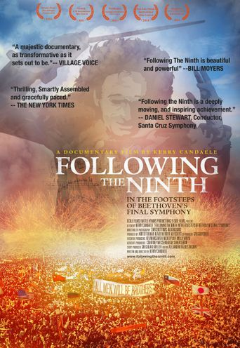 Following the Ninth: In the Footsteps of Beethoven's Final Symphony Poster