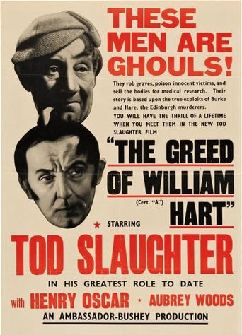 The Greed of William Hart Poster