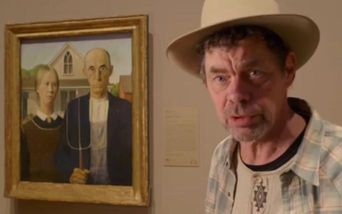 Rich Hall's Working for the American Dream Poster