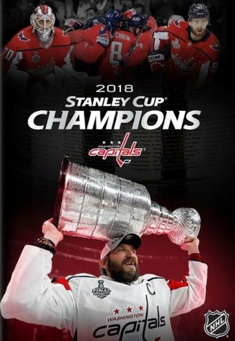 Washington Capitals 2018 Stanley Cup Champions Poster