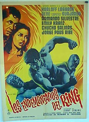 Los endemoniados del ring Poster