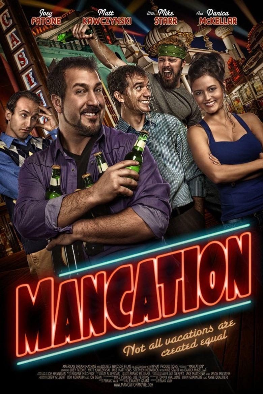 Mancation Poster
