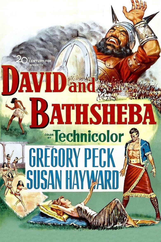David and Bathsheba Poster
