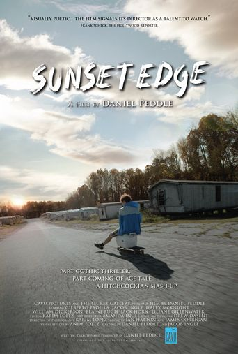 Sunset Edge Poster