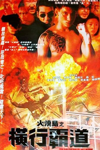 Jail in Burning Island Poster
