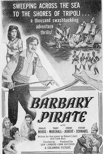 Barbary Pirate Poster