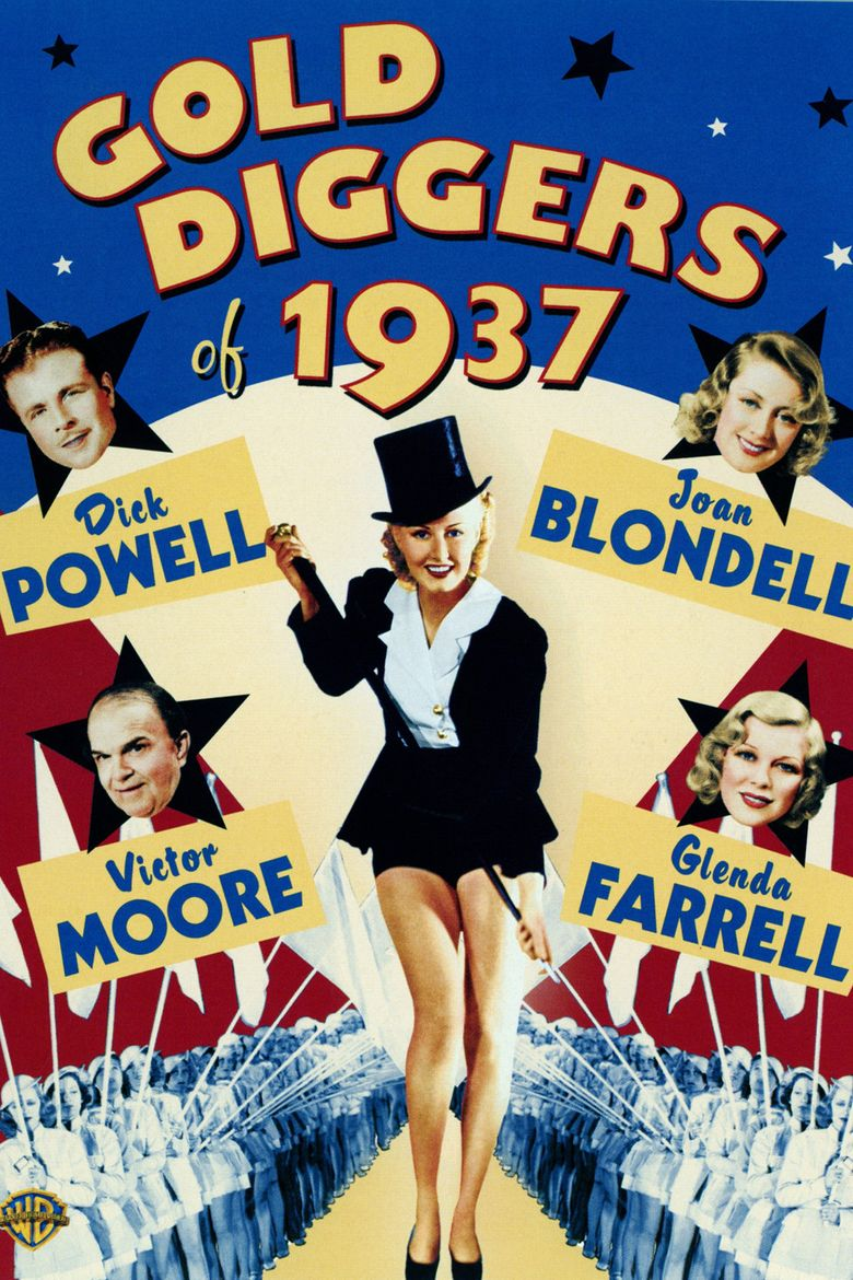 Gold Diggers of 1937 Poster