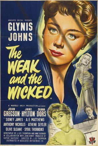 The Weak and the Wicked Poster