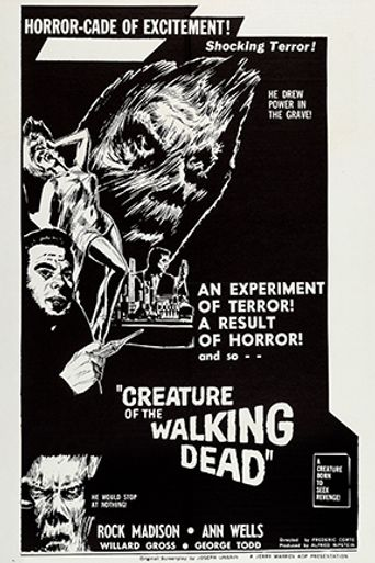 Creature of the Walking Dead Poster