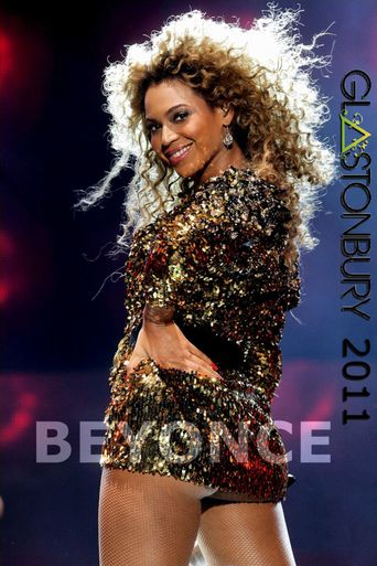 Beyoncé: Live at Glastonbury 2011 Poster