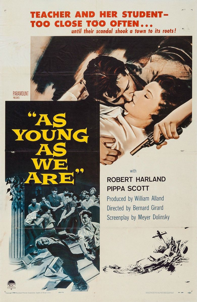 As Young As We Are Poster