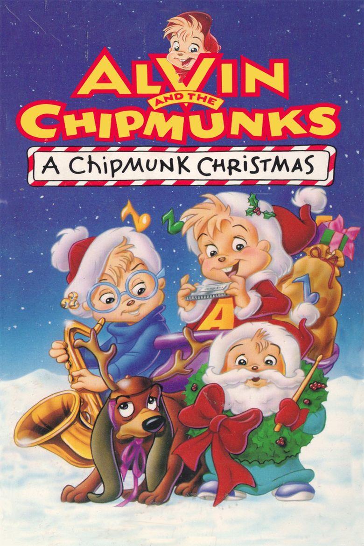 A Chipmunk Christmas Poster