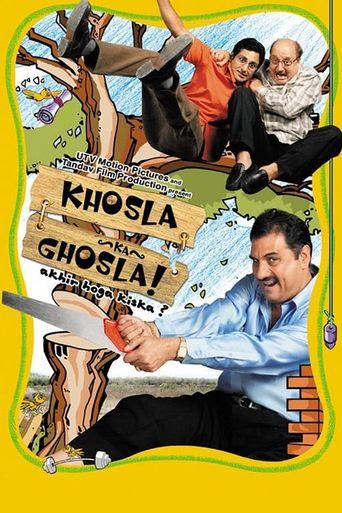 Khosla Ka Ghosla! Poster