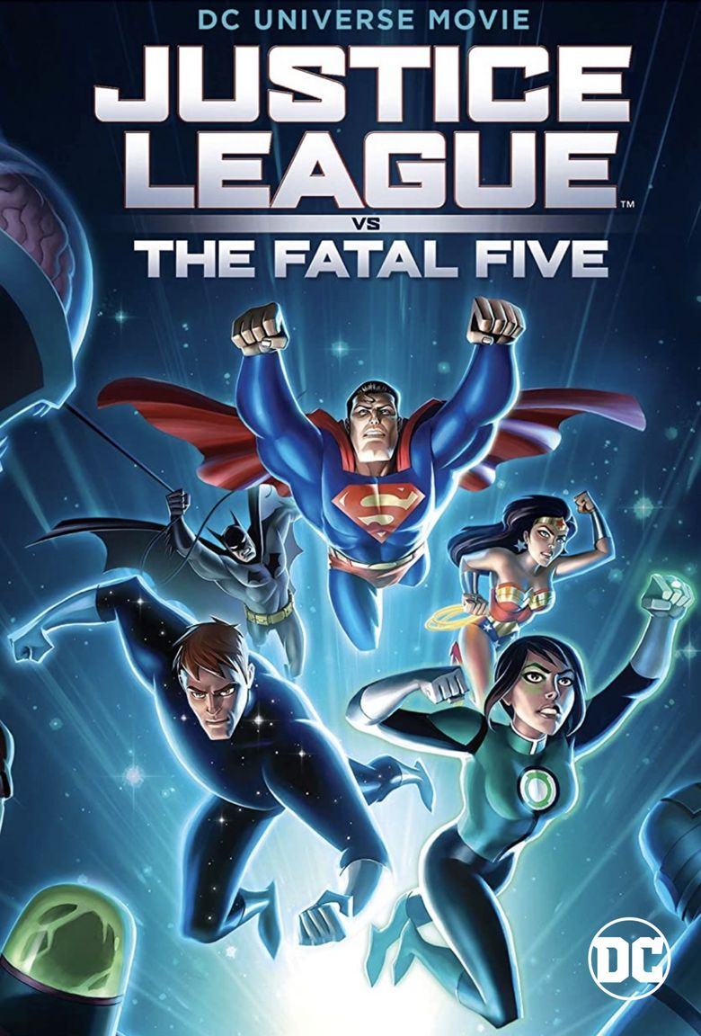 Justice League vs. the Fatal Five Poster