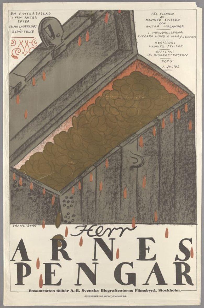 Sir Arne's Treasure Poster