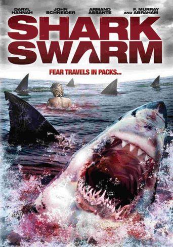 Shark Swarm Poster