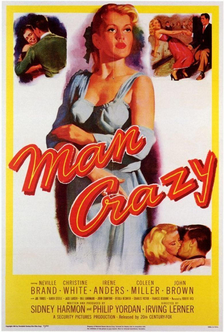 Man Crazy Poster