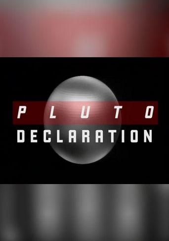 Pluto Declaration Poster