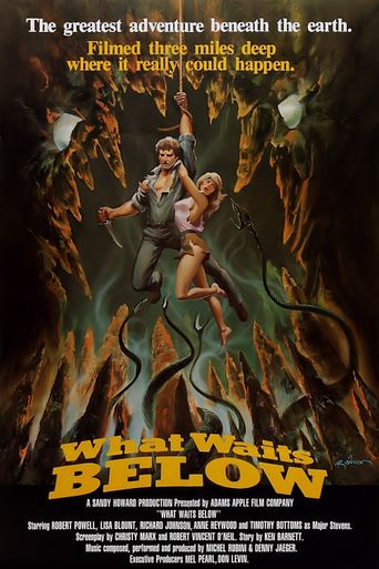 What Waits Below Poster