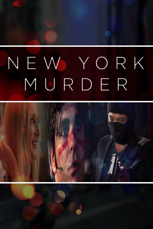 New York Murder Poster