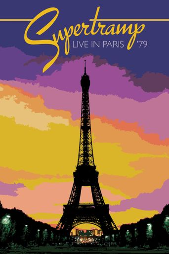 Supertramp: Live in Paris '79 Poster