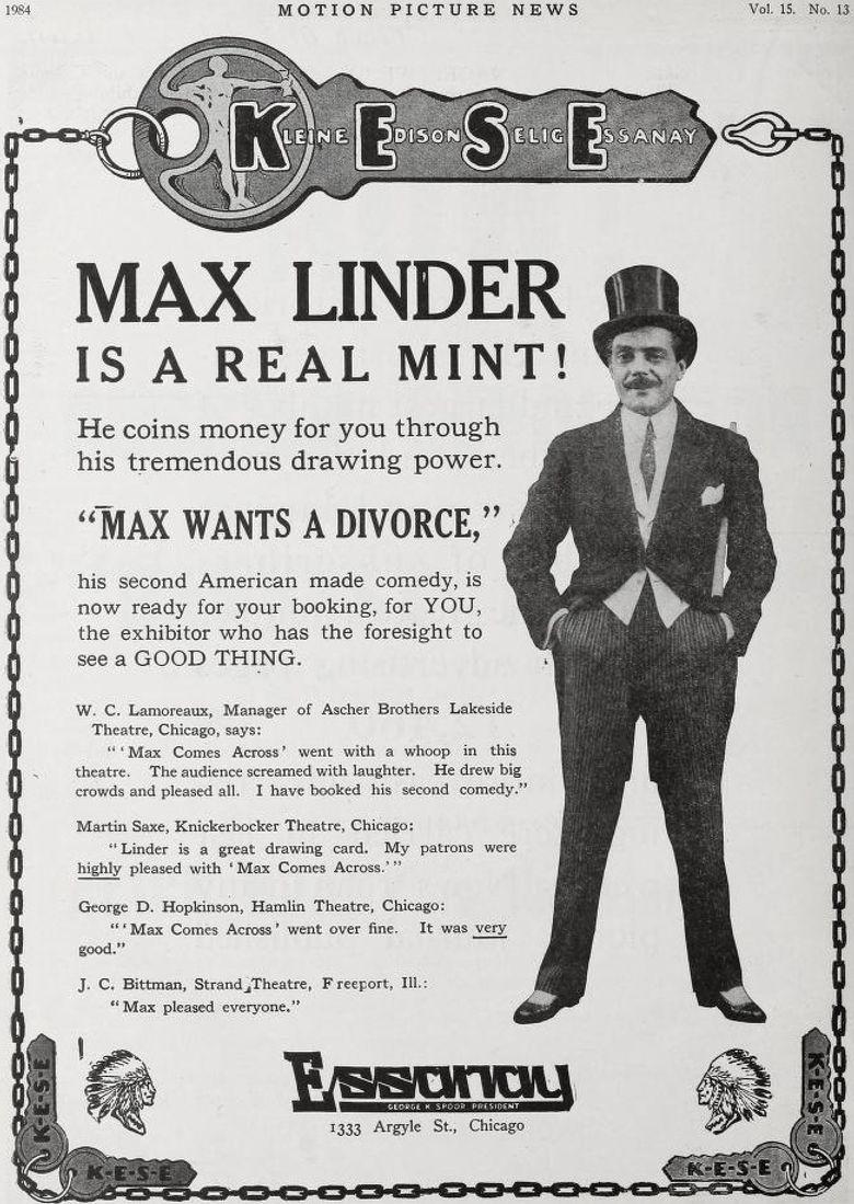 Max Wants a Divorce Poster