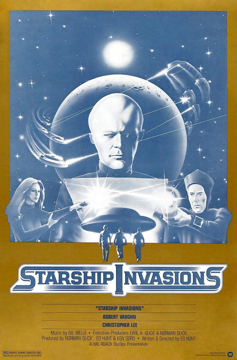 Starship Invasions Poster