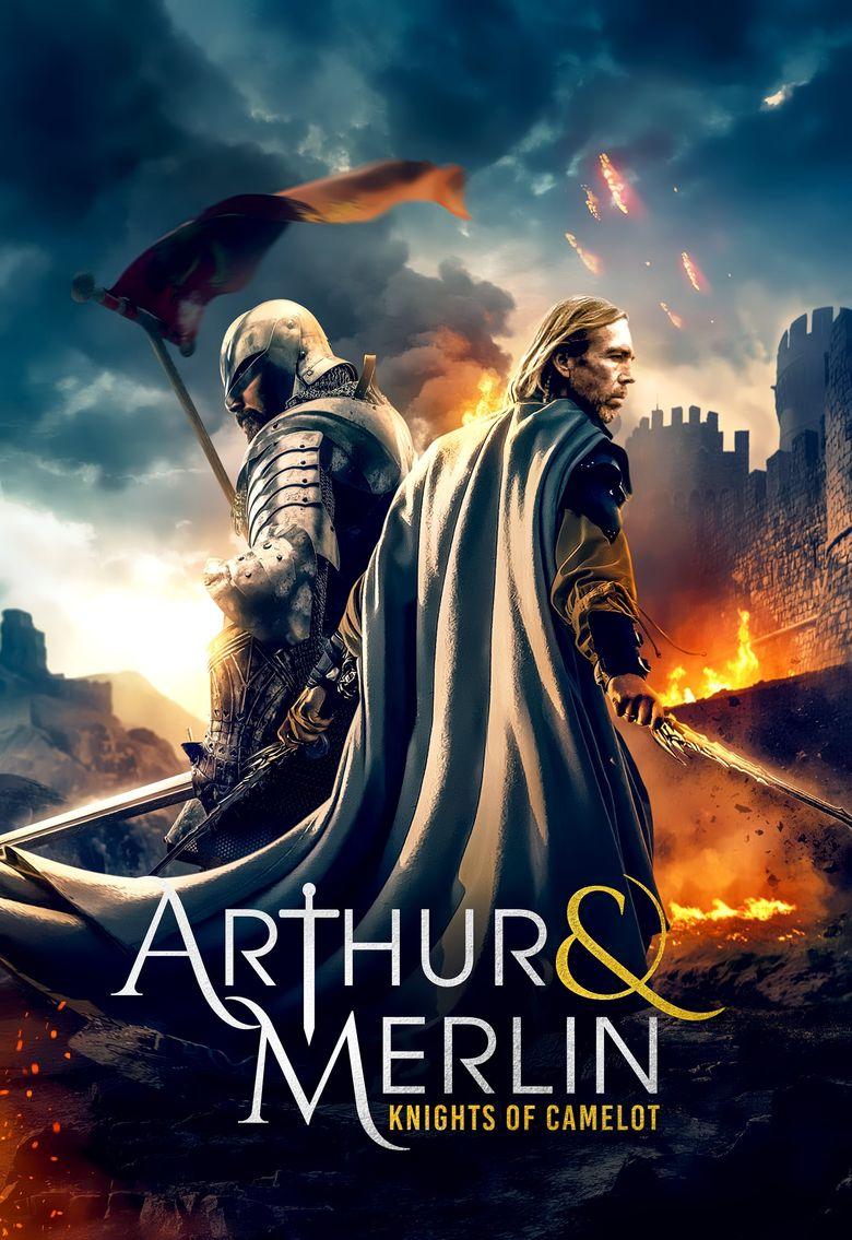 Arthur & Merlin: Knights of Camelot Poster