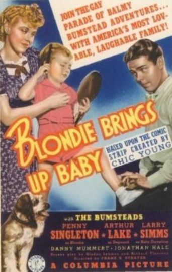 Blondie Brings Up Baby Poster