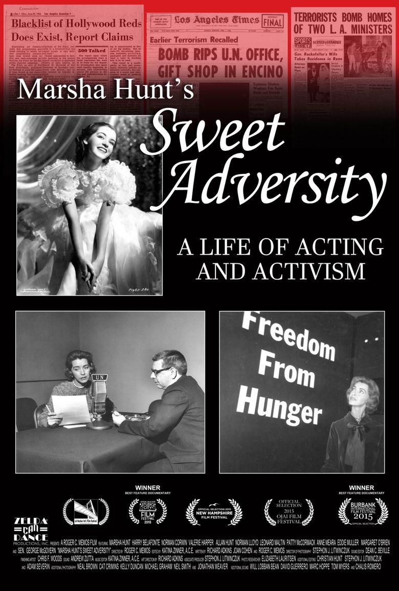Marsha Hunt's Sweet Adversity Poster