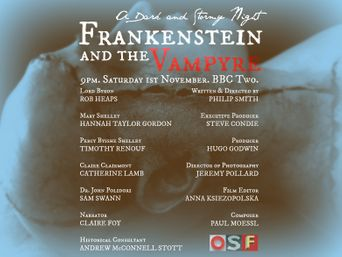 Frankenstein and the Vampyre: A Dark and Stormy Night Poster