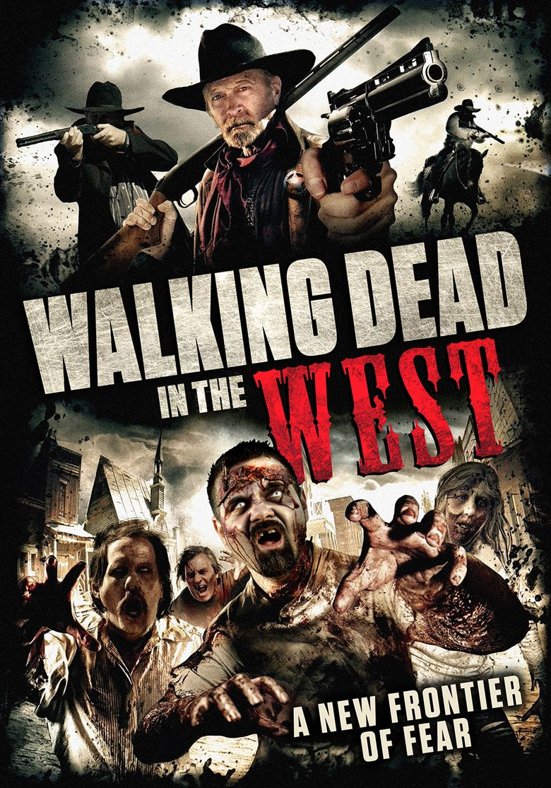 Walking Dead In The West Poster