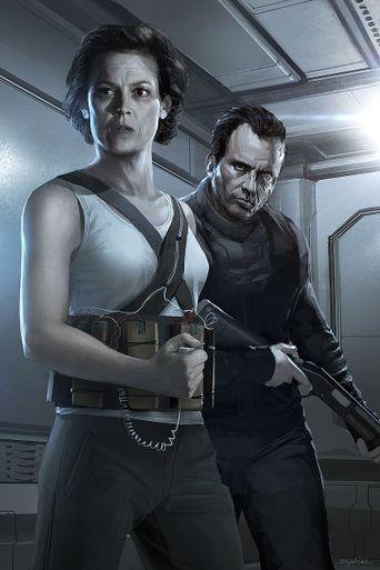Untitled Neill Blomkamp Alien Project Poster