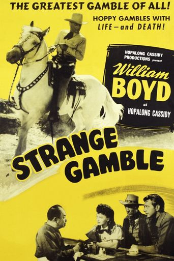 Strange Gamble Poster