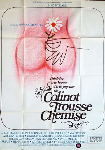 The Edifying and Joyous Story of Colinot Poster