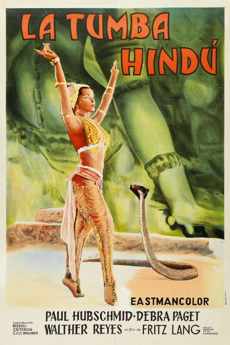 The Indian Tomb Poster