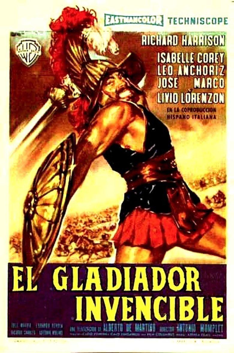 The Invincible Gladiator Poster
