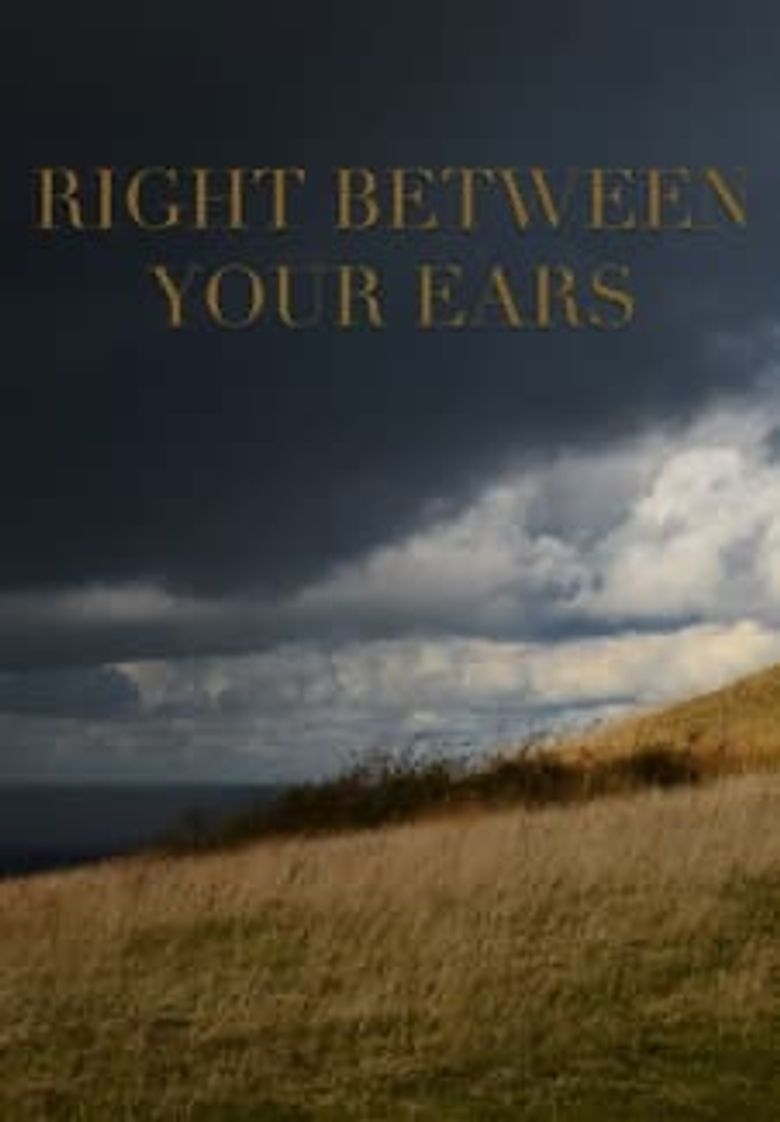 Right Between Your Ears Poster