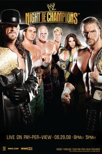 WWE Night of Champions 2008 Poster