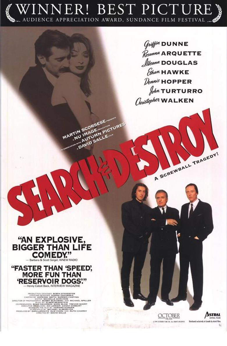 Search and Destroy Poster