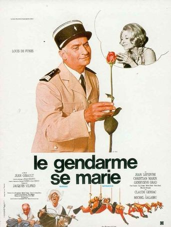 The Gendarme Gets Married Poster
