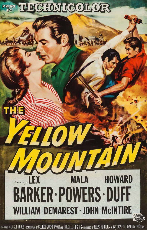 The Yellow Mountain Poster
