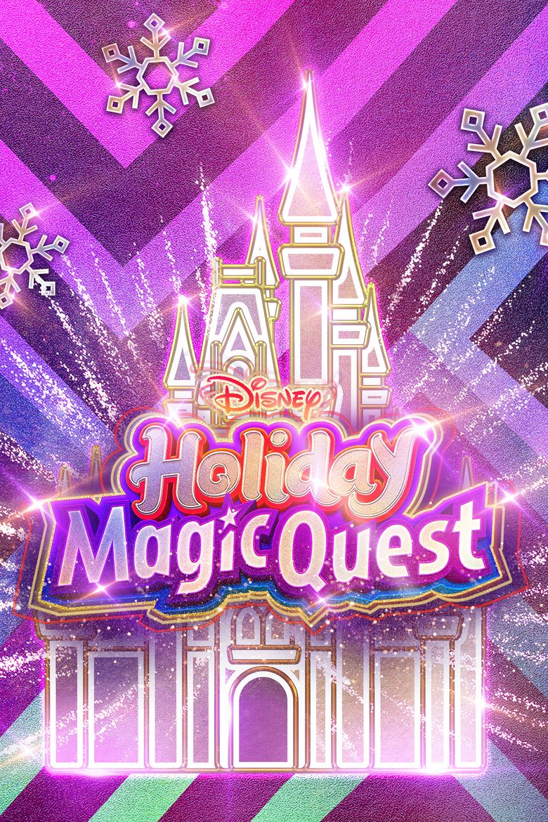 Disney Holiday Magic Quest Poster