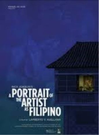 A Portrait of the Artist as Filipino Poster